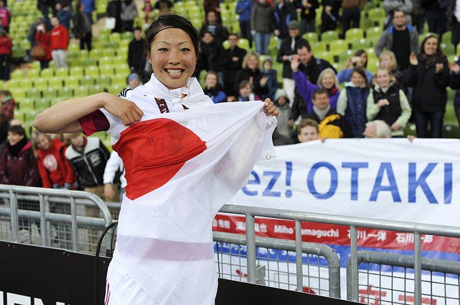 2012年にはUEFA女子チャンピオンズリーグの優勝も経験した大滝麻未さん。異色のキャリアはどんなドアに繋がっているのだろうか。