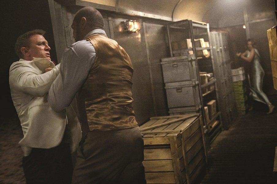 映画『007 スペクター』では彼に注目!敵役のバウティスタは名プロレスラー。<Number Web> photograph by SPECTRE (c) 2015 Metro-Goldwyn-Mayer Studios Inc., Danjaq, LLC and Columbia Pictures Industries, Inc. All rights reserved.