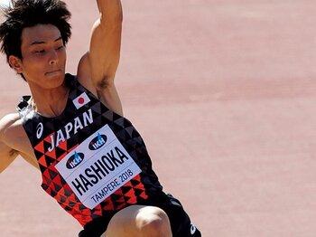 「新記録は時間の問題だと思う」男子跳躍のホープが掴んだ手応え。~橋岡優輝、世界の20歳以下で金メダル~<Number Web> photograph by AFLO