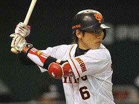 打率3割を狙えるG坂本勇人の集中力。