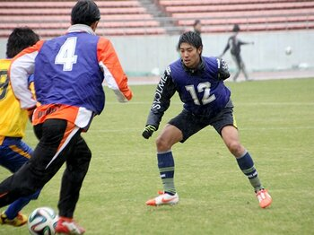 "Jリーグトライアウトは""気づき""の場所。元浦和、21歳野崎雅也の「瀬戸際」。 <Number Web> photograph by Satoshi Shigeno"