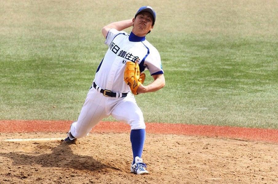 2004年ドラフトで阪神に入団した玉置隆は今年から新日鐵住金へ。都市対抗出場を決めた富士重工戦では「高校以来」という完封勝利。