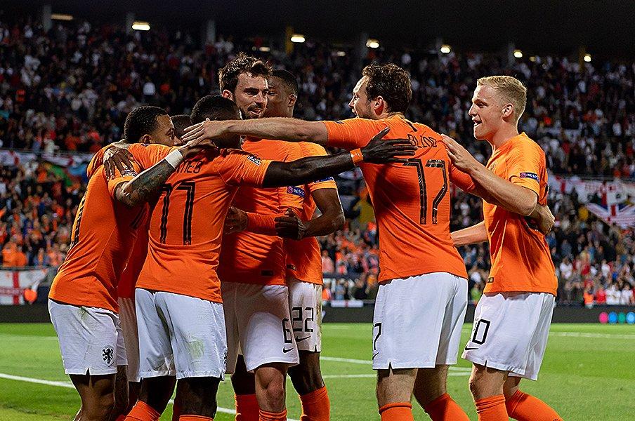 若き才能が集うオランダが蘇った!イングランド撃破で欧州一に王手。<Number Web> photograph by Getty Images