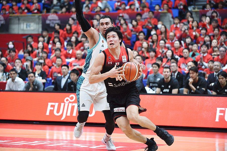 「自分のバスケの原点はお父さん」父が明かす、馬場雄大が育つまで。<Number Web> photograph by Itaru Chiba