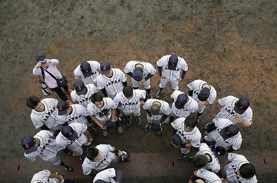 データ采配が光った大学侍ジャパン。米国監督は「球数と休養」を懸念。<Number Web> photograph by Kyodo News