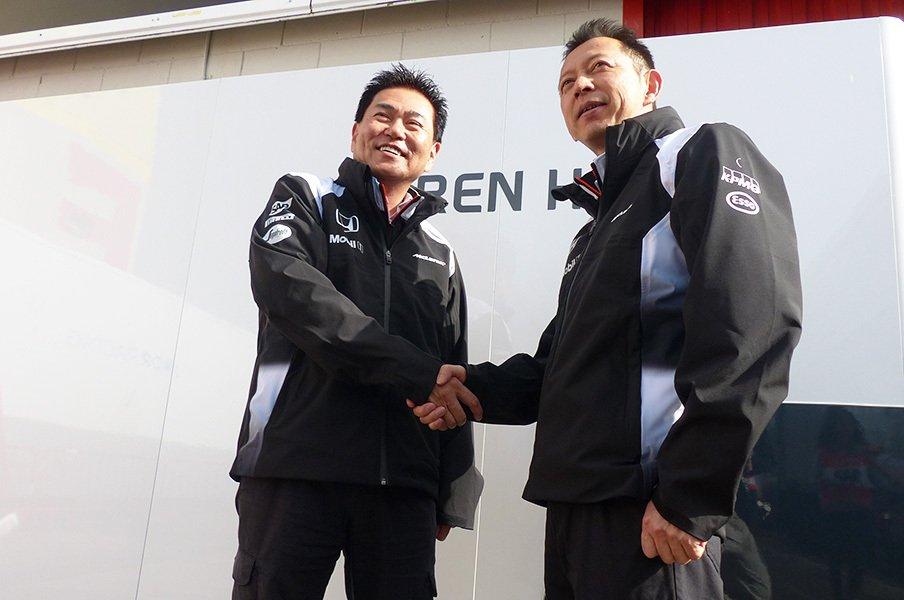 佐藤琢磨担当エンジニアが現場復帰。ホンダが見せた本気の「人事異動」。<Number Web> photograph by Masahiro Owari