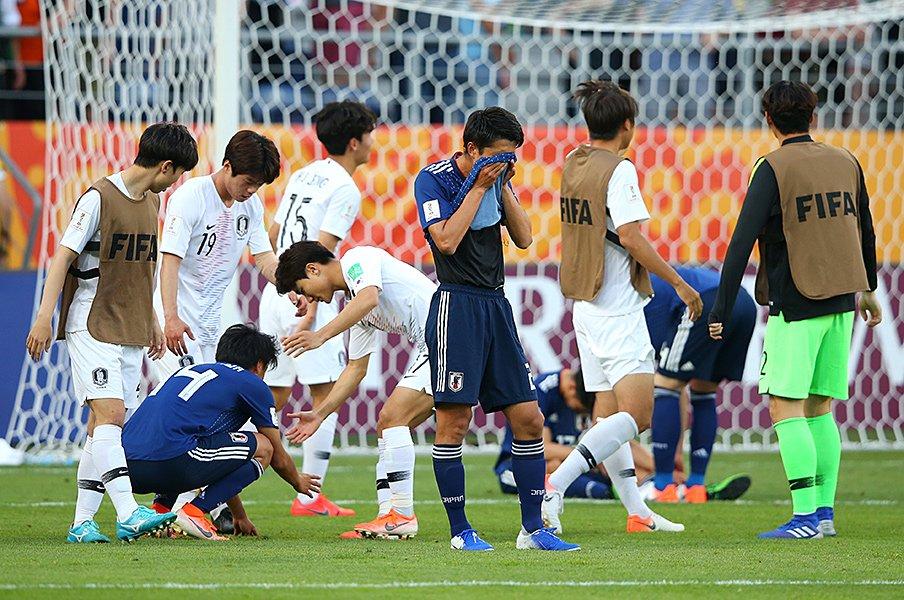 「惜しかった」のか「完敗」なのか?U-20W杯、影山ジャパンの最後の屈辱。<Number Web> photograph by FIFA via Getty Images