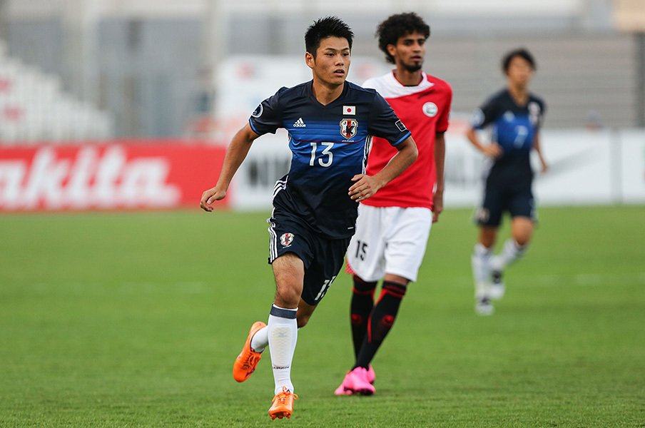 U-19が日本初アジア制覇に王手。準決勝ベトナム戦で見た万全の組織力。<Number Web> photograph by AFLO