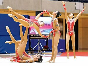 """《新体操》フェアリージャパンは五輪の大トリを飾れるか? カギは""""金メダルも獲得した""""ボールの正確さと美しさ"""