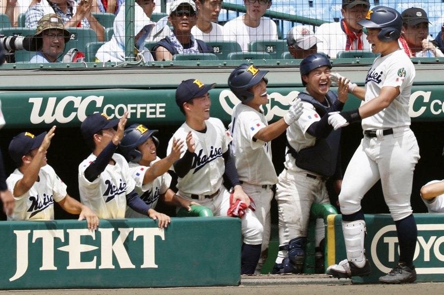 海星の「たまたま超攻撃的2番」、大串祐貴の変身を監督は信じるか。<Number Web> photograph by Kyodo News