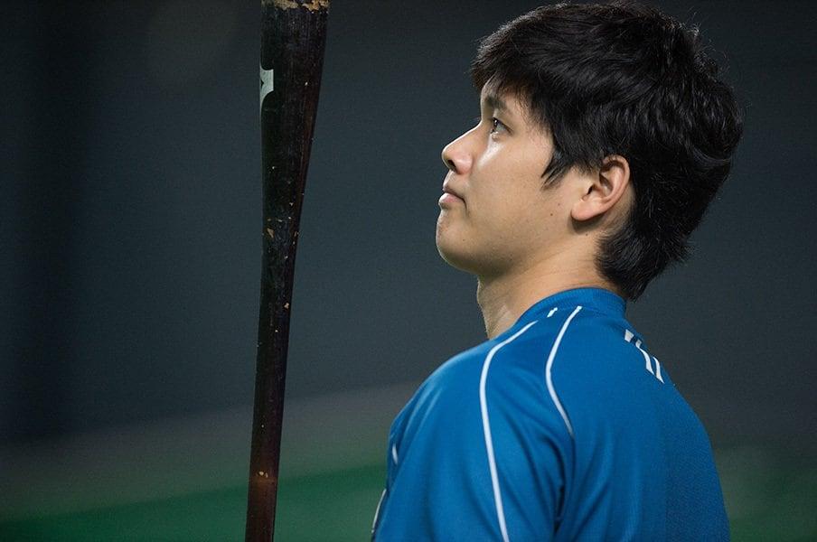 大谷翔平とベーブ・ルースの4年間。投打の数字比較から未来を想像する。<Number Web> photograph by Nanae Suzuki