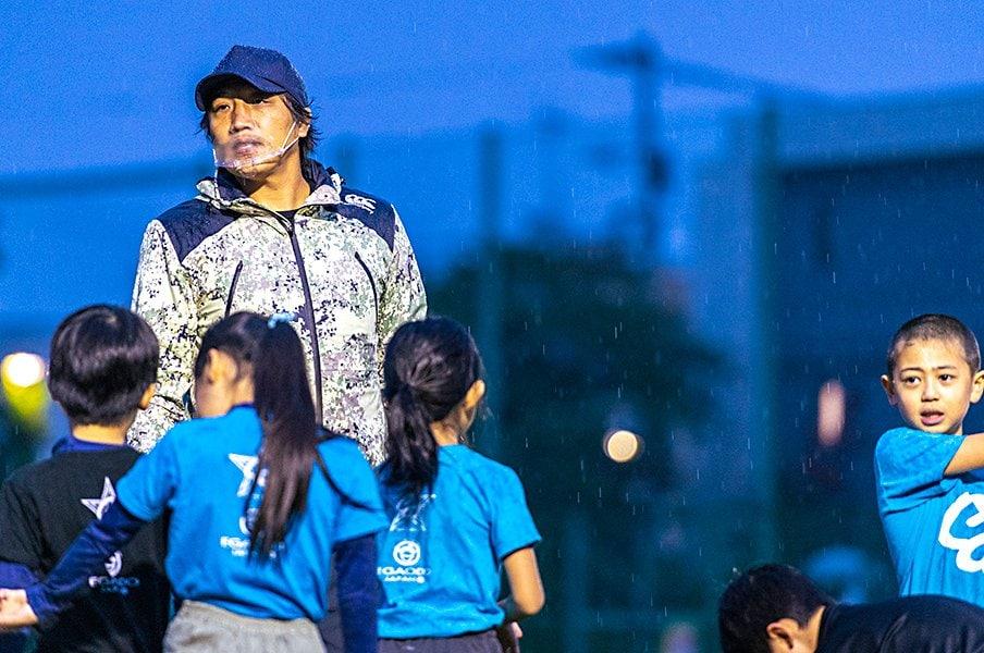 """齊藤祐也が子供教室で学んだ""""情熱""""、「ノーサイド・ゲーム」の監督からもらった宝物とは"""