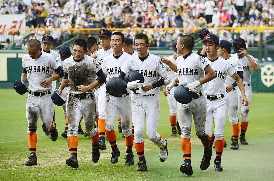 市尼崎が甲子園で見せた「生き方」。元プロの監督が技術より重視する事。<Number Web> photograph by Kyodo News