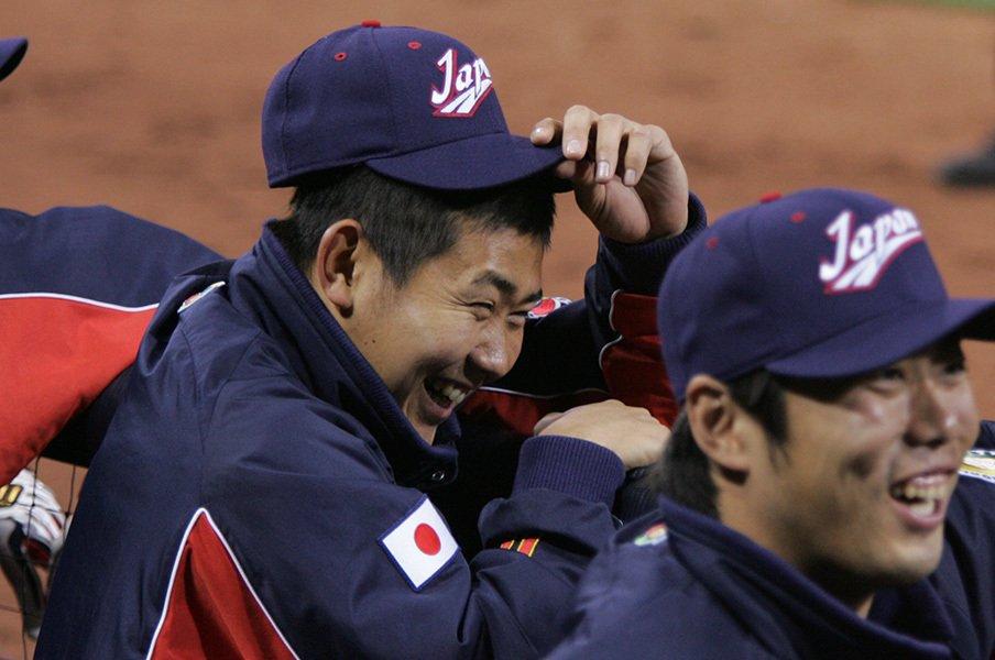 記念すべきWBC第1回大会で、日本を優勝に導いたのは松坂大輔だった。この活躍が、翌年のメジャー移籍にも影響したに違いない。