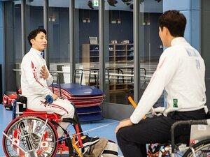 加納慎太郎が車いすフェンシングとヤフー入社までを松岡修造に語る。