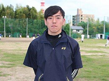熊本で根を張るドラフト候補投手。2度続く苦難にも「運命は変えられる」。<Number Web> photograph by Yu Takagi