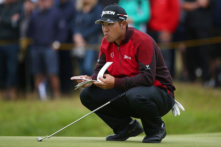松山英樹が本当に全英で優勝しそう。歴代王者と通じるゴルフへの寛容さ。<Number Web> photograph by AFLO