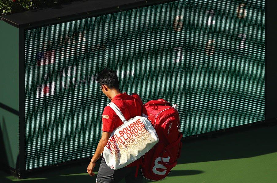マレーもジョコビッチも錦織圭も。強豪選手がスランプを否定する根拠。<Number Web> photograph by Getty Images
