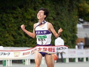 駒大の全日本大学駅伝6年ぶり優勝を生んだ、アンカー勝負「2秒差」の綾。