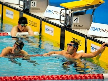 """陸上と水泳の""""実力差""""。~日本人選手の世界ランクは?~<Number Web> photograph by Asami Enomoto"""