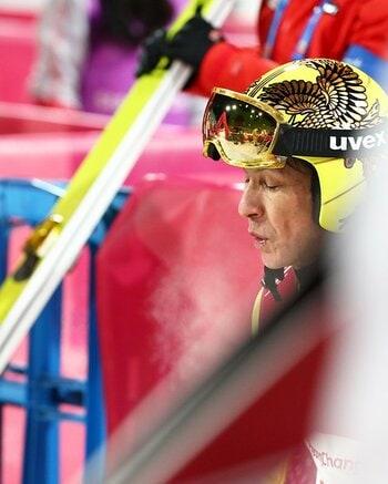 葛西でも「気持ちがひるんじゃう」。平昌ジャンプ台は、やはり酷すぎる。<Number Web> photograph by Ryosuke Menju/JMPA