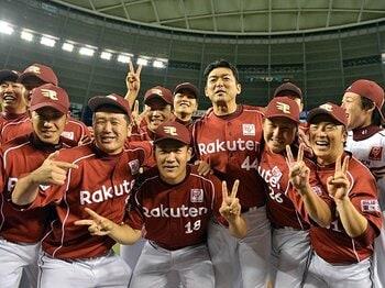 最高の出塁率と、最少の犠牲バント。打線の「我慢強さ」で楽天・初優勝!<Number Web> photograph by Hideki Sugiyama