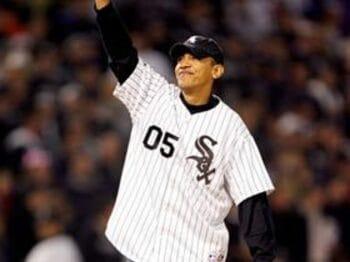 オバマ当選がMLB選手に嫌がられる理由。<Number Web> photograph by Getty Images/AFLO