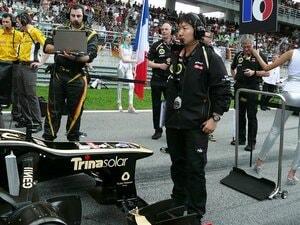 """カナダGP2位のグロージャンを支えた、""""文系""""F1エンジニアの小松礼雄。"""