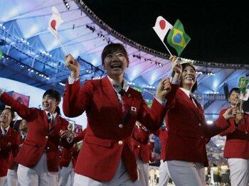 日本時間6日8時15分の瞬間に――。五輪開会式に託されたメッセージ。<Number Web> photograph by AFLO