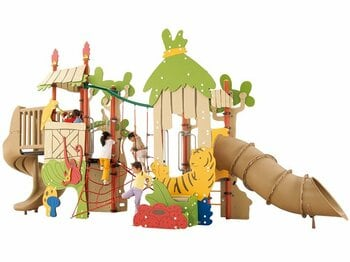 <遊びの巻> これが日本の最先端。子供ごころをくすぐるコトブキの遊具だ!<Number Web> photograph by Sports Graphic Number