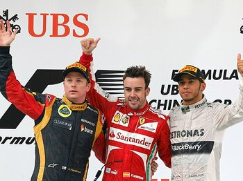 緊迫した後半戦に突入。首位を追う3人の特性は?~F1覇権争い、ベッテルを討て~<Number Web> photograph by AFLO