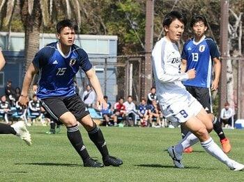 熾烈なメンバー選考、新ルールも導入。開幕迫るU-20W杯の切符は誰に?<Number Web> photograph by Takahito Ando