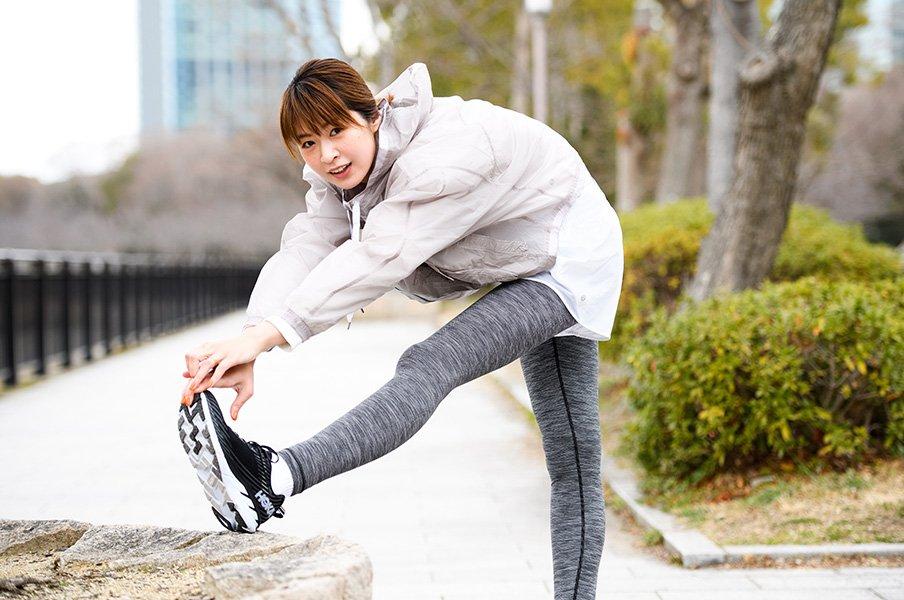 元バレーボールの木村沙織が宣言!「このシューズでもう一度マラソンを!」<Number Web> photograph by Asami Enomoto