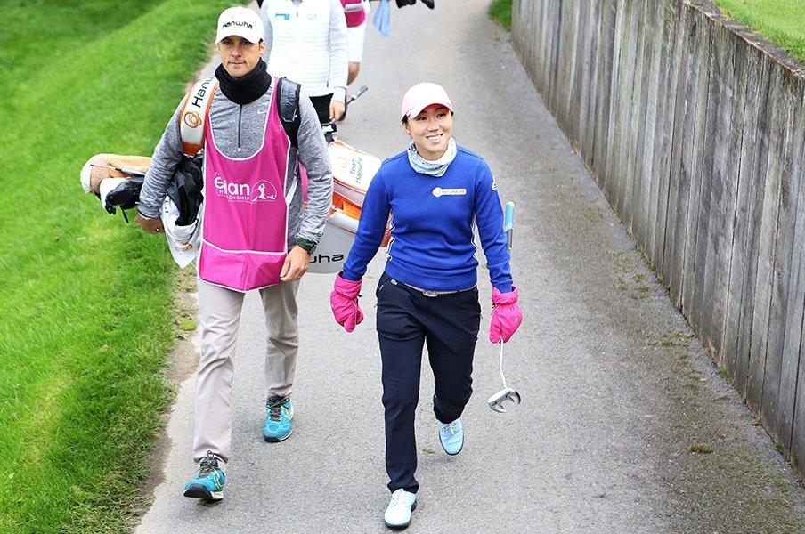 初メジャー制覇キム・インキョン。強さの源はゴルフ以上に人生を……。<Number Web> photograph by Shizuka Minami