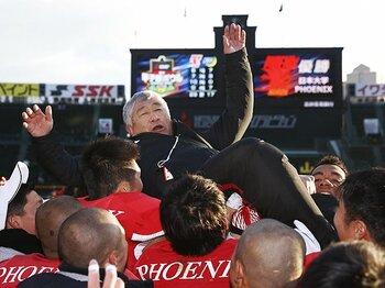 日大タックル問題は現場記者に注目。元選手、逆ギレ司会、そしてハンセン!<Number Web> photograph by Kyodo News