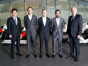 F1復帰のホンダに集まる熱烈な期待。最強ドライバーを得て、勝算は?<Number Web> photograph by Getty Images