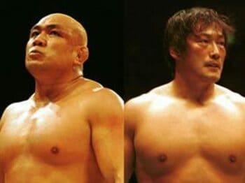 藤田和之と小橋健太、2強が抱える重大危機。<Number Web> photograph by Essei Hara
