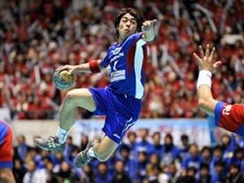 ハンドボールの一番熱い日。<Number Web> photograph by Yukihito Taguchi