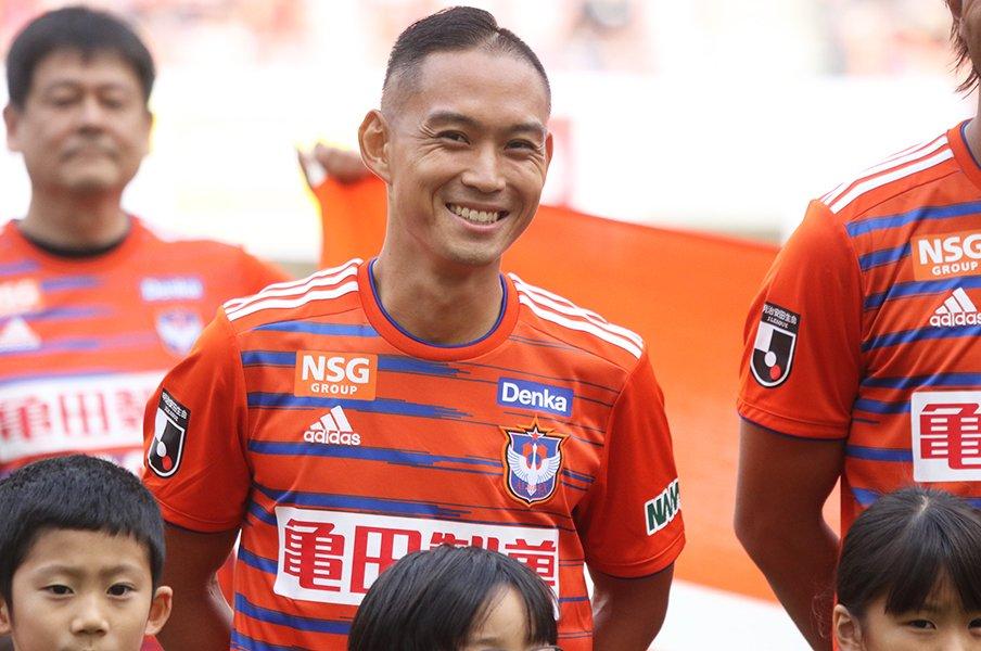 早川史哉、1302日ぶりのJリーグ。白血病から笑顔のカムバック。<Number Web> photograph by Takahito Ando