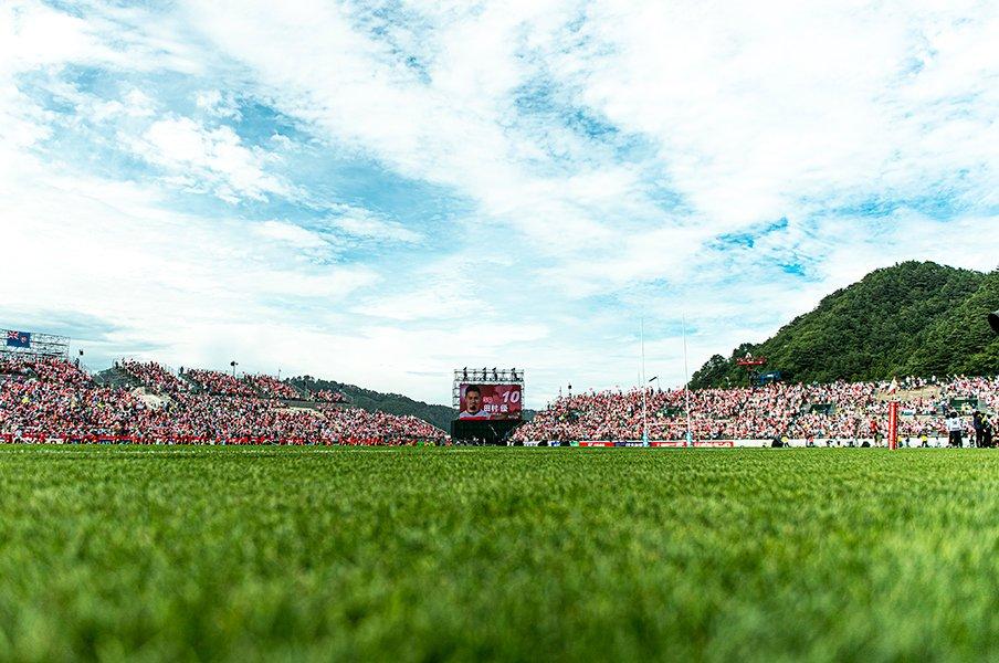 釜石にラグビーW杯がやってくる!震災から8年、1万人が集まった。<Number Web> photograph by Atsushi Kondo