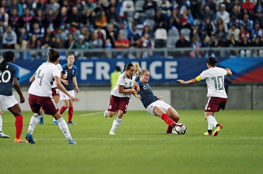 男子よりも女子サッカーに期待!?メキシコで盛況の女子プロリーグ。<Number Web> photograph by L'Equipe
