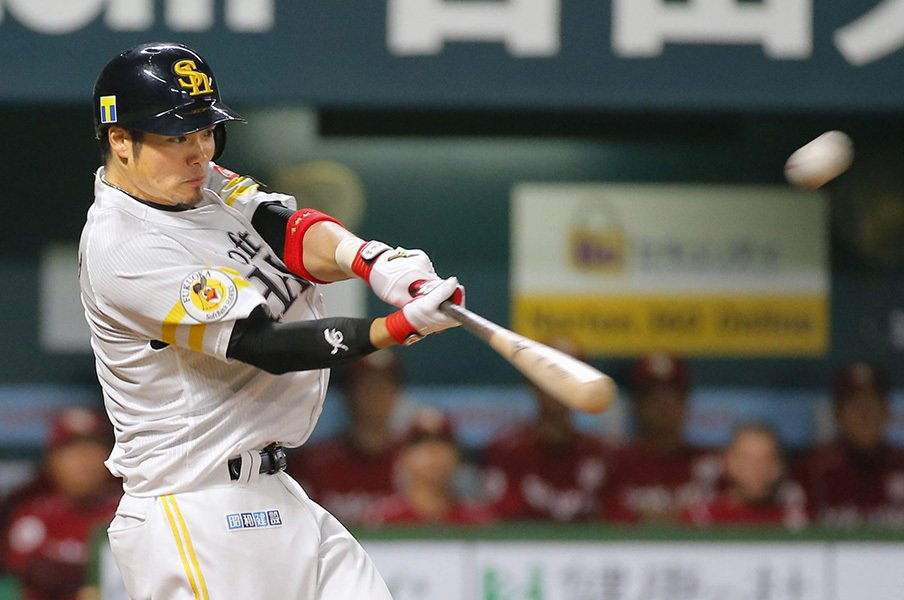 内川離脱を埋める大砲は……いた!二軍でもがく吉村裕基にチャンスを。<Number Web> photograph by Kyodo News