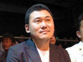 あの経営者たちが狙う、格闘技の四角いリング。<Number Web> photograph by Koji Fuse