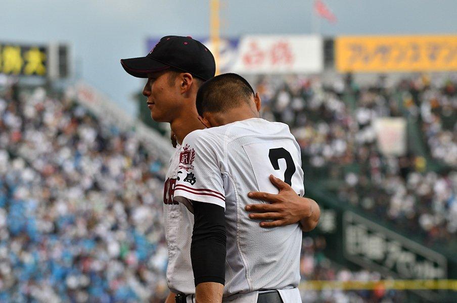 広陵の叶わなかった10年越しの夢。「止まった、ですね。時間が」<Number Web> photograph by Hideki Sugiyama