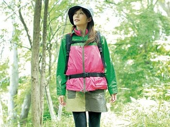 <私が山に登る理由> 山ガール系女子アナ・中田有紀 「小さな達成感がいっぱい欲しいんです」<Number Web> photograph by Atsushi Hashimoto