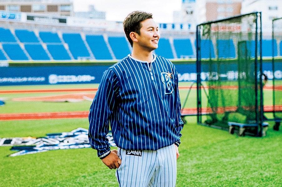 山崎康晃はなぜ魅力的な守護神か。度胸と「ありがとう」が言える愛嬌。<Number Web> photograph by Tetsuo Kashiwada