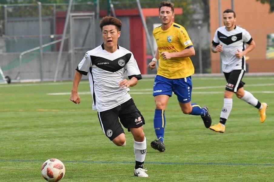 柿沼利企、日本人ドリブラー、19歳。スイス第3のクラブで成り上がる。<Number Web> photograph by FC Lugano