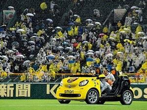 """阪神タイガース「甲子園のリリーフカー」を作るにはいくらかかる? 職人たちのこだわり、""""猛虎色""""に込められた思いとは"""