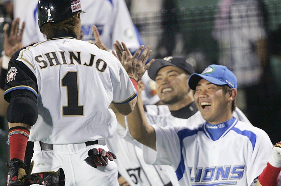 松坂大輔のいるところドラマあり。平成ラスト球宴、怪物が何か起こす。<Number Web> photograph by Kyodo News