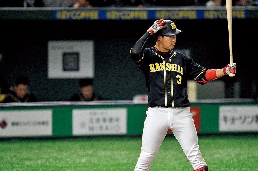 巨人と阪神の4番打者が互いの打撃を評すると?~岡本と大山が考えるバッティング~<Number Web> photograph by Nanae Suzuki